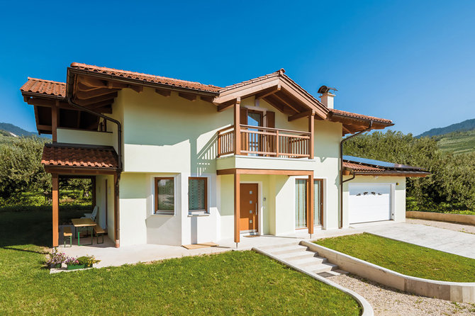 Architettura ecosostenibile le case in legno for Case in legno difetti
